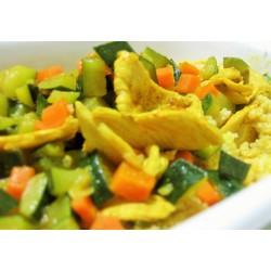 63A Pollo al curry
