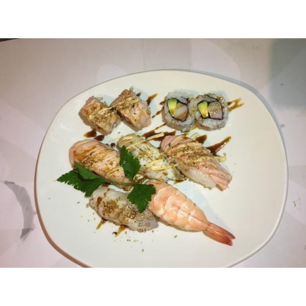 B6 Misto Sushi flambŠ