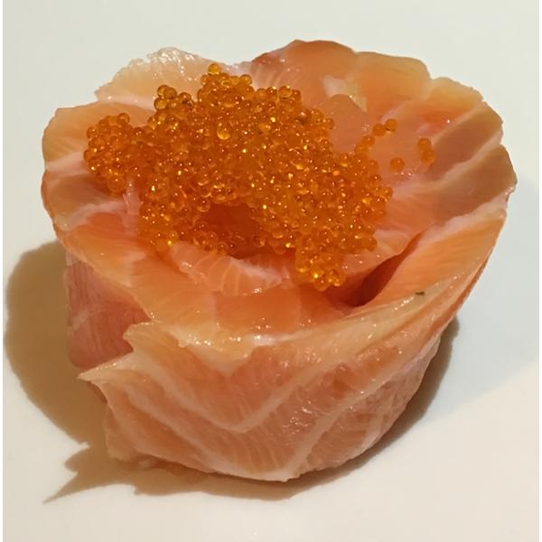 F3 Salmone  con uova di salmone