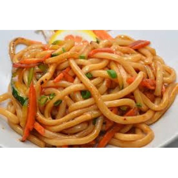 24 Udon con verdure alla piastra