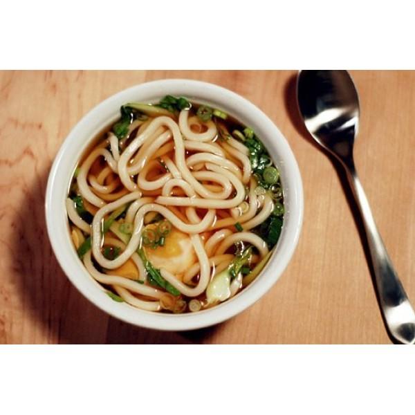 24A Udon con verdure in brodo