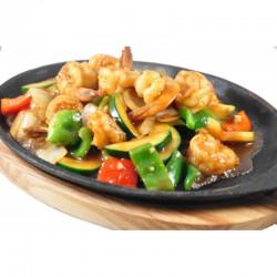 44 Teppan yaki - Gamberi al curry